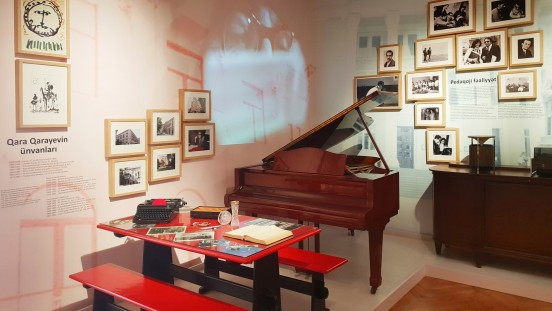 Gara Garayev House Museum, 2018