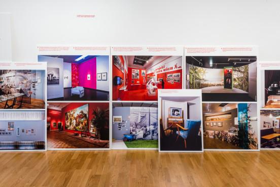 Schnelle Jahre, Ausstellungsdesign Wien Museum 2003-2013