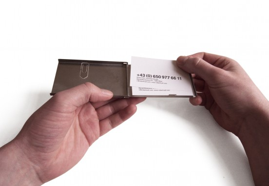 Business card case, 2008